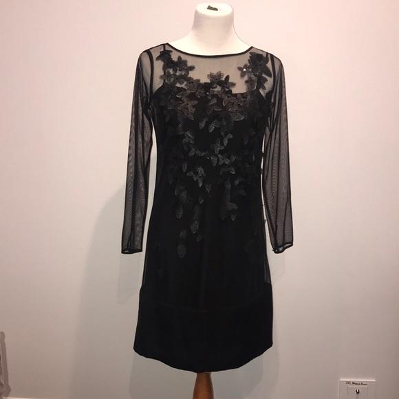 Coast Dresses Black Dress Size Us 4 Poshmark